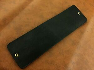 """10x3"""" Handmade Razor Sharpening Tool-Cowhide Leather Strop-Canvas Side-P16"""