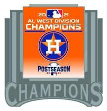 2021 Houston Astros Américain League Broche Ouest Division Champion World Série