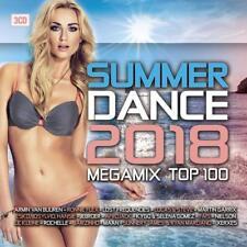 SUMMER DANCE 2018/MEGAMIX TOP 100  3CD HARDELL PALOMA FAITH SCARAMOUCHE UVM NEW+