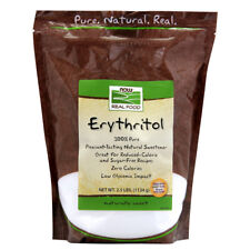 NOW Foods Erythritol Natural Sweetener - 2.5 lb