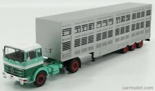 Ixo-models ttr008 scala 1/43 mercedes benz lps 1632 truck livestock transporter