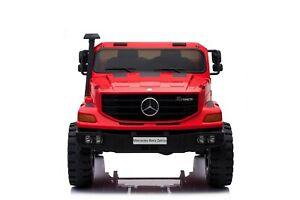 Mercedes-Benz Zetros 24V Kids Ride On Car Truck Music 2 Seater