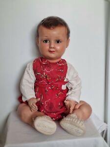 Poupee baigneur ancien Doll puppen vintage Collection pcp Petit colin celuloid