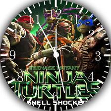 Teenage Mutant Ninja Turtles Borderless Wall Clock for Home Wall Decor A473