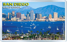 SAN DIEGO CALIFORNIA USA FRIDGE MAGNET SOUVENIR IMAN NEVERA
