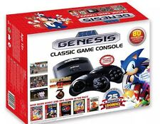 SEGA GENESIS CLASSIC GAME CONSOLE WITH 80 BUILT IN GAMES ( NEW 2016 MODEL)