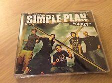 Simple Plan Crazy CD Single 2004 Mint