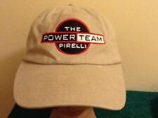 The Power Team, PIRELLI Cap Hat Embroidered Adjustable Energy Products