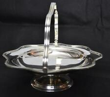 Vintage Mappin & Webb Silver Plate Footed Serving Plate Bowl Stand [PL2477]