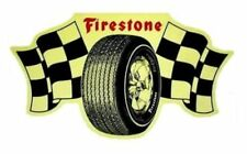 Vintage FIRESTONE Racing Tires Vinyl Decal Sticker 4069