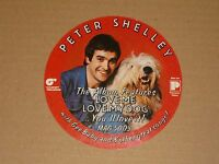 Peter Shelley 1975 Magnet Records unused Promo Sticker
