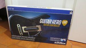 CHITARRA GUITAR HERO LIVE per PS3 ! Nuova! GUITAR CONTROLLER ! CONS IN 24/48H