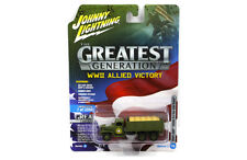 Johnny Lightning GMC CCKW 2 1/2 Ton WWII Allied Victory JLCP7068 1/87