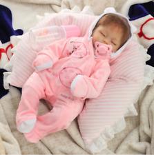 16''Realistic Full Silicone Handmade Reborn Baby Doll Sleeping Newborn Girl Gift