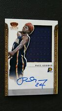 PAUL GEORGE 2011-12 PREFERRED SILHOUETTES AUTO JERSEY #70/99! ON CARD AUTOGRAPH!