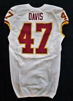 #41 Davis of Washington Redskins NFL Game Issued Jersey