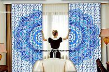 Indian Mandala Bedroom Curtains Window Tapestry Drapes Treatment Bohemian Set