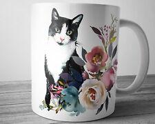 CAT Mug Cat Lover Gift Idea 11 oz Coffee Mug Tea Cup Cute Cat Kitty Mug