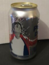 2018 Michael Jackson New Canadian Special Silver Chrome Pepsi Soda Can Limited