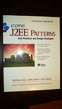 Core J2EE Patterns: Best Practices and Design Strategies  1st Enterprise Edition