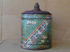 Rare MFA SHO-ME MOTOR OIL CAN 5 gallon metal vintage Missouri Tennessee #16