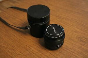 Vintage Konica Hexanon AR Lens (50 mm)