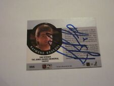 RAY BOURQUE SIGNED AUTOGRAPHED 1990 PRO SET NORRIS WINNER CARD-ON BACK