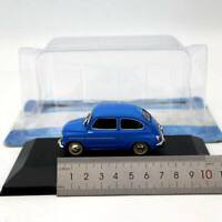 1/43 IXO Altaya Fiat 600D 1962 Blue Diecast Models Limited Edition Collection