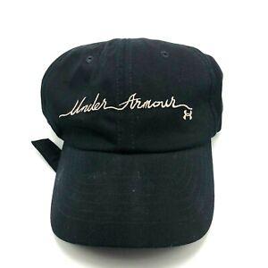 Under Armour UA Free Fit Womens Sports Hat Cap Strapback Black