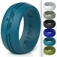 Silicone Ring | Wedding Band for Men by Rinfit ® Designed, Soft & Comfortable