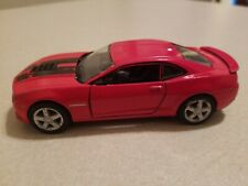 "2014 Chevrolet Camaro 5"" Diecast Metal Pull Back Action 1:38 Kinsmart Toy Red"