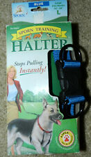 Sporn Pull-Control Dog Harness New in Box • Size Large Blue Training Collar