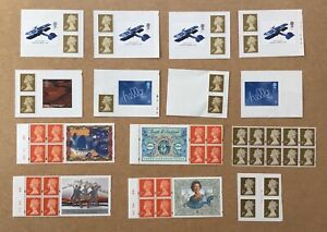 Cheap 50 GB 1st Class Mint Booklet Stamps FV £42.50 for Postage or Collectors