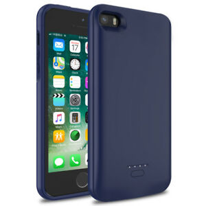4000mAh Capacity Extended Rechargeable Charging Battery Case For iPhone 5 , 5s