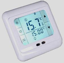 Digital LCD Raumthermostat Digitaler Bodenfühler Thermostat Fußbodenheizung 16A