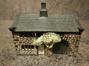 David White Studio Pottery Cottage Money Box