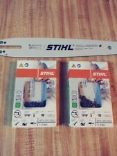 "STIHL 12"" 1-Bar and 2-Chain Combo  3005-008- 3405 3670-005-0064"