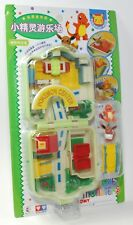 Auldey tomy Pokemon Pocket Monsters Mini Playset w Hitokage & Eievui CHIBI RARE