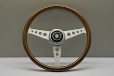 NARDI ND CLASSIC 360MM WOOD Polished Holes Spoke Steering Wheel - 5061.36.6300