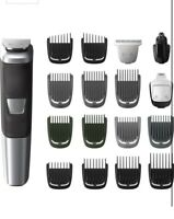 NEW - Philips Norelco 5000 Multigroom Hair Trimmer with 18 Attachments - MG5750/