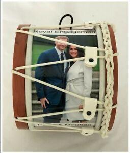 Royal Engagement Harry and Meghan Souvenir Mini Lambeg Drum