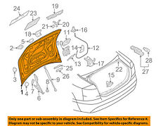 AUDI OEM 09-11 A6 Quattro-Trunk Lid 4F5827023R