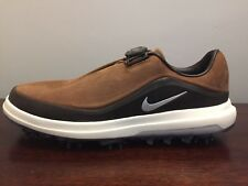 Nike Air Zoom Precision BOA Golf Shoes Spikes Men's Size 10 Brown (AH7101-200)
