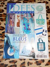 IDEES MAGAZINE n° 10 - Envies de bleus, dossier récup' - 2005