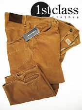 Ralph Lauren 5 Pocket Corduroy Pants in 40/34 Camel Tan With Press Fold