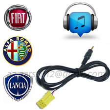 Fiat Alfa Romeo Lancia Aux Adaptor for Samsung HTC Huawei with Microusb Charger