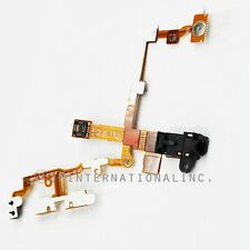 iPhone 3G 3GS Headphone Audio Jack Power Volume Flex Cable Black Repair Part USA