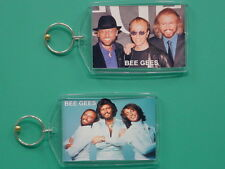 BEE GEES - Barry Robin Maurice Gibb - with 2 Photos - Collectible GIFT Keychain