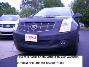 Lebra Front End Cover Bra Cadillac SRX with Headlite Washers 2010-2012 10 11 12