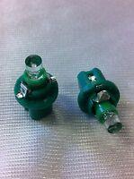 COPPIA LAMPADINE LAMPADE 1 LED VERDI CRUSCOTTO E STRUMENTAZIONE B8,5D